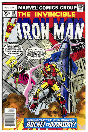 Iron Man #99 Marvel 35c Price Variant