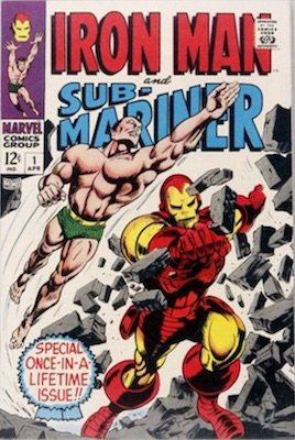 Iron Man and Sub-Mariner #1 predates Iron Man comic book #1