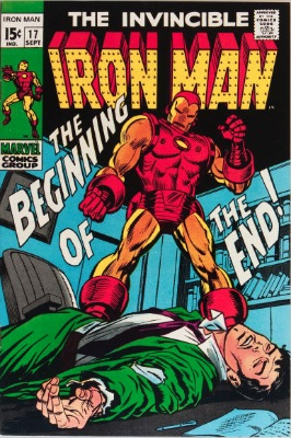 Origin and First Appearance, Madame Masque, Iron Man #17, Marvel Comics, 1969. Click for value
