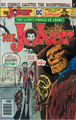 The Joker #8 (August 1976): A Fear Contest With The Joker. Click for values