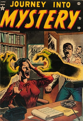 Journey into Mystery #1 (1951): First issue of long-running Horror and Suspense series. Click for value