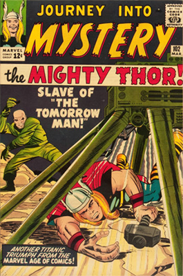 Hela (First Appearance: Journey Into Mystery #102, March, 1964). Click for value