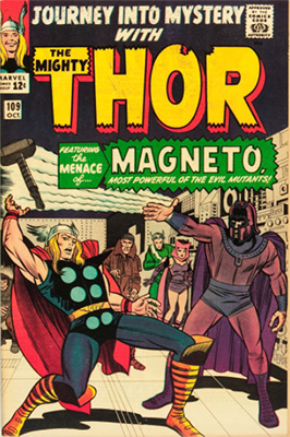 Journey Into Mystery #109 (October 1964): Magneto Cover, X-Men Appearance. Click for values