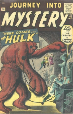 Journey Into Mystery #62 (November 1960): First Appearance of Xemnu. Click for value
