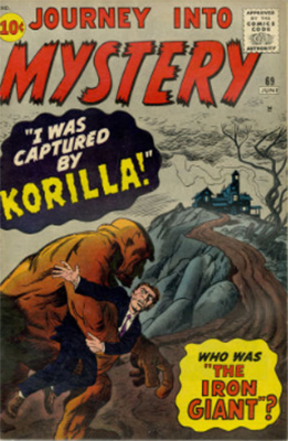 Journey Into Mystery #69 (June 1961) First Comic Labeled