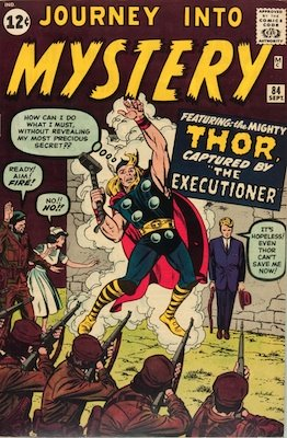 Journey into Mystery #84: Second Appearance of Thor in Marvel Comics. Click for values