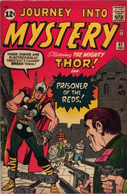 Journey into Mystery #87: Early Thor appearance. Click for values