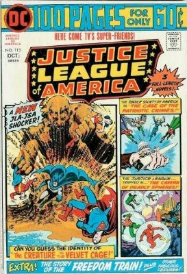 Justice League of America #113: Origin and First Appearance, Sandy the Golden Boy (Bronze Age). Click for values