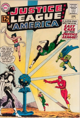 Origin and First Appearance, Dr. Light, Justice League of America #12, DC Comics, 1962. Click for value