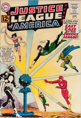 Deadshot: First Appearance, Justice League of America #12. Click for values