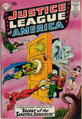 Justice League of America #2: second in official series