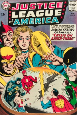 Origin and First Appearance, Crime Syndicate of America, Justice League of America #29, DC Comics, 1964. Click for value