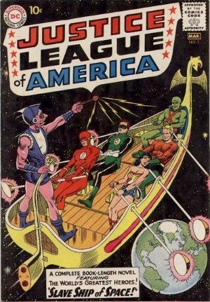 Justice League of America #3: the black cover means it's very hard to find in higher grades
