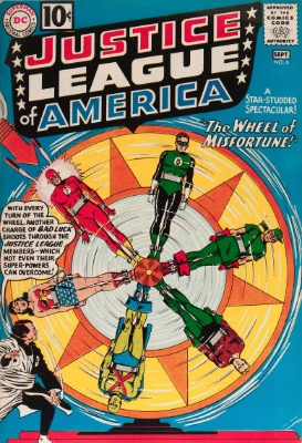 Origin and First Appearance, Amos Fortune, Justice League of America #6, DC Comics 1961. Click to see value