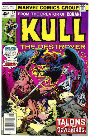 Kull the Conqueror #22 Marvel 35 Cent Price Variants