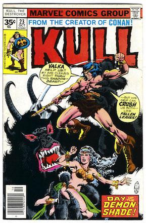 Kull the Conqueror #23 35c Price Variant