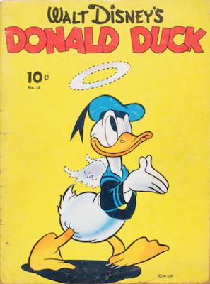 Walt Disney's Comics and Stories #43. Click for values
