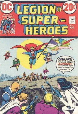 Legion of Superheroes mini series, 1973