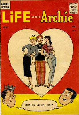 Life With Archie #1 (1958). Click for values