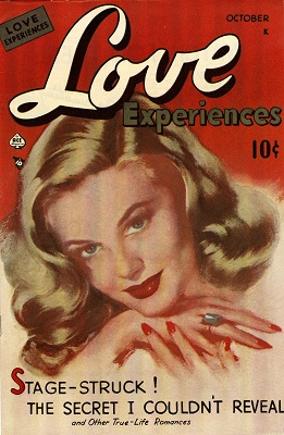 Love Experiences #1: First issue of the series. Click for values