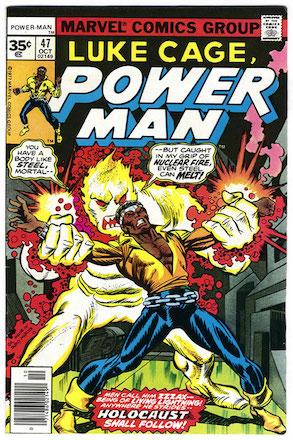 (Luke Cage) Power Man #47 Marvel 35 Cent Variant