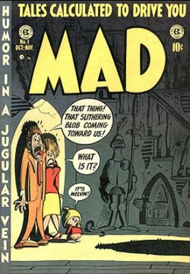 MAD comic magazine issue 1. Click for values