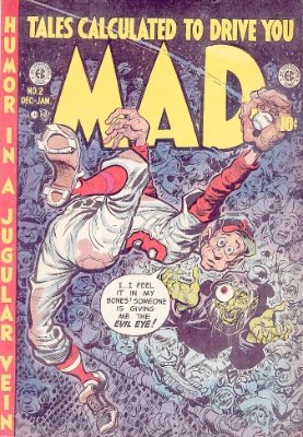 Mad Magazine comic #2 by EC Comics. Click for values