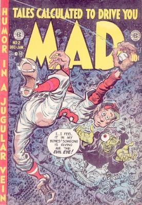 Mad Magazine comic #2 by EC Comics. Click for values