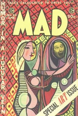 Mad Magazine #22. Click for value