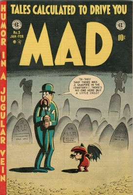 MAD Comic #3 EC 1953. Click for values