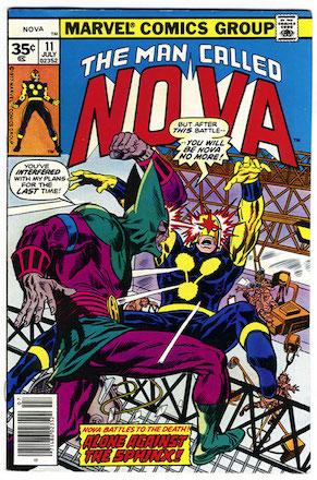 (Man Called) Nova #11 Marvel 35 Cent Price Variant