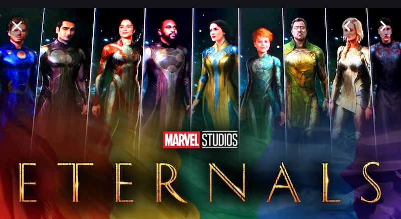 More About the Marvel Comics Eternals Movie