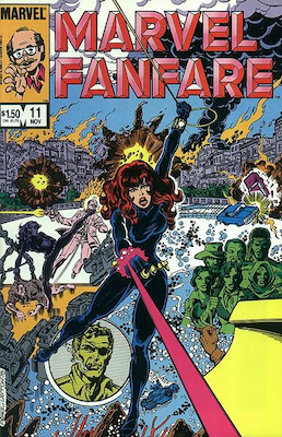 5) Marvel Fanfare #11: First Appearance of Iron Maiden. Click for values