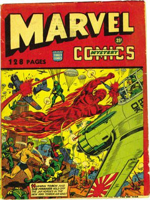 Marvel Mystery Comics 128-page variant. Published in 1943 and only distributed in NYC, it's a very rare comic