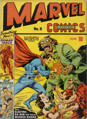 Marvel Mystery Comics #8 (June 1940): Classic Timely Comic. Click for values