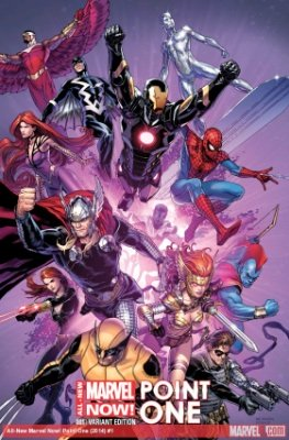 Here is the more valuable variant version of All New Marvel NOW Point One 1. Click to buy a copy