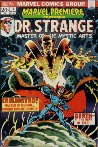 Premiere #14: Last Doctor Strange Issue. Click for value