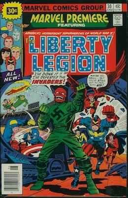 Marvel Premiere #30 30c Price Variant June, 1976. Starburst Flash