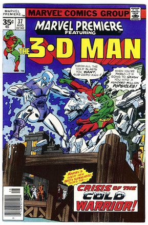 Marvel Premiere #37 35c Price Variant