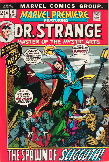 Marvel Premiere #4 (September, 1972): Dr. Strange. Click for values