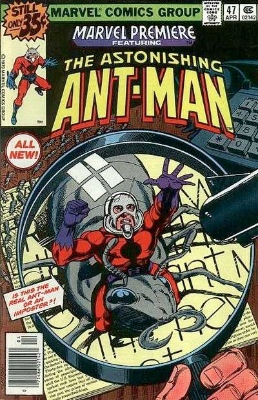 Marvel Premiere #47: First Scott Lang as Ant-Man. Click for values