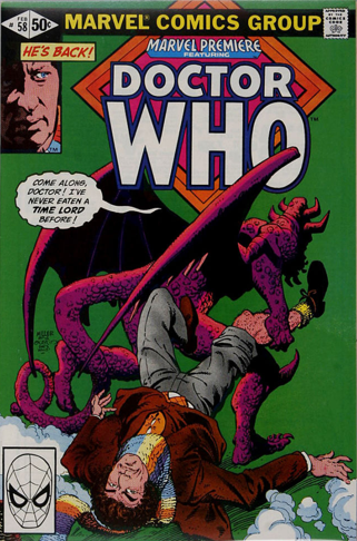 Marvel Premiere #58 (February, 1981): Doctor Who. Click for value