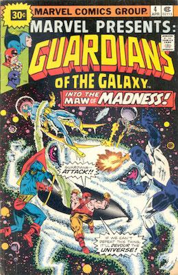 Marvel Presents #4 30c Variant April, 1976. Starburst Flash