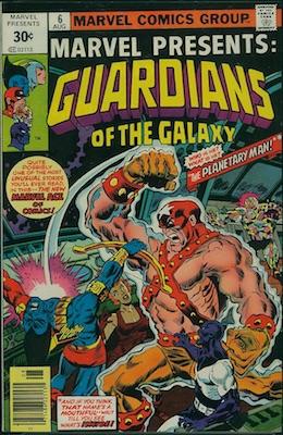Marvel Presents #6 30c Price Variant August, 1976. Square Price Box