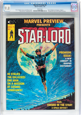There are simply too many high grade copies of Marvel Preview #4 to settle for less than a white pages CGC 9.8. Click to buy a copy