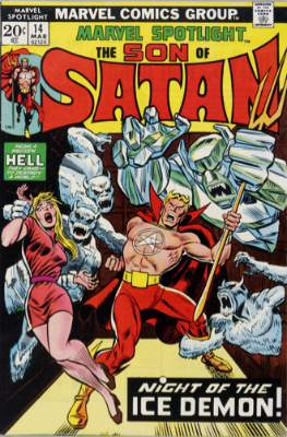 Marvel Spotlight #14, March, 1974: Son of Satan. Click for value
