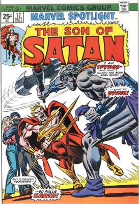 Marvel Spotlight #17, September, 1974: Son of Satan. Click for value