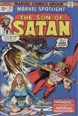Marvel Spotlight #18, October, 1974: Son of Satan. Click for value