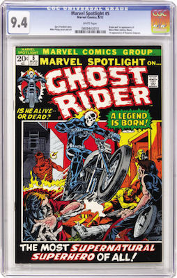 A CGC 9.4 copy of Marvel Spotlight #5 has huge potential to appreciate over time. Click to find your copy