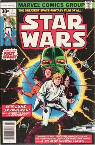 Star Wars 1977 #1 Regular 30c Edition